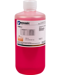 pH 4 RED CALIBRATION STD, 500mL
