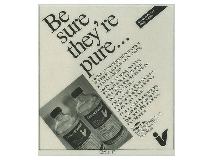 Advertisement 1989
