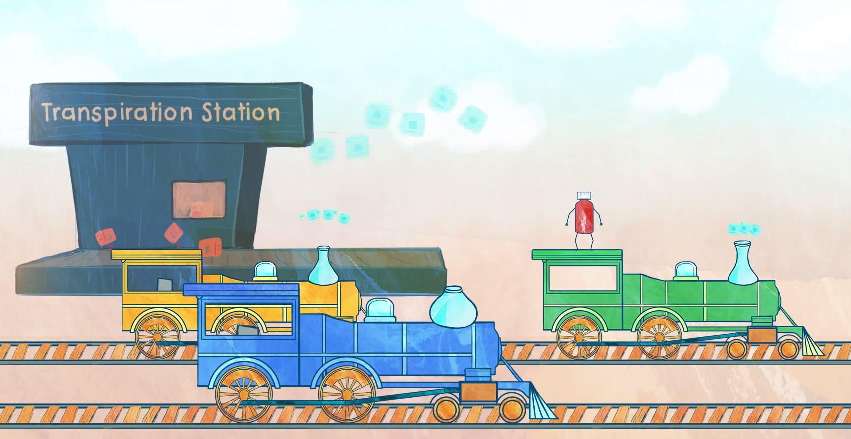 Transpiration Frustration animated short, 2015